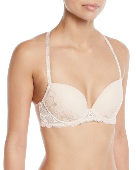 Simone Perele Promesse Lace-Trim Push-Up Bra