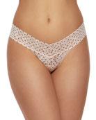 Hanky Panky Pixie Dot Low-Rise Lace Thong