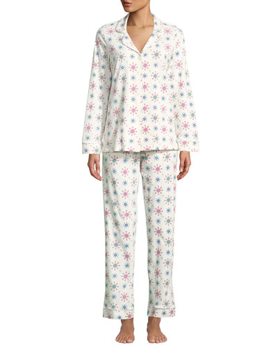 Holiday Snowflake Classic Pajama Set