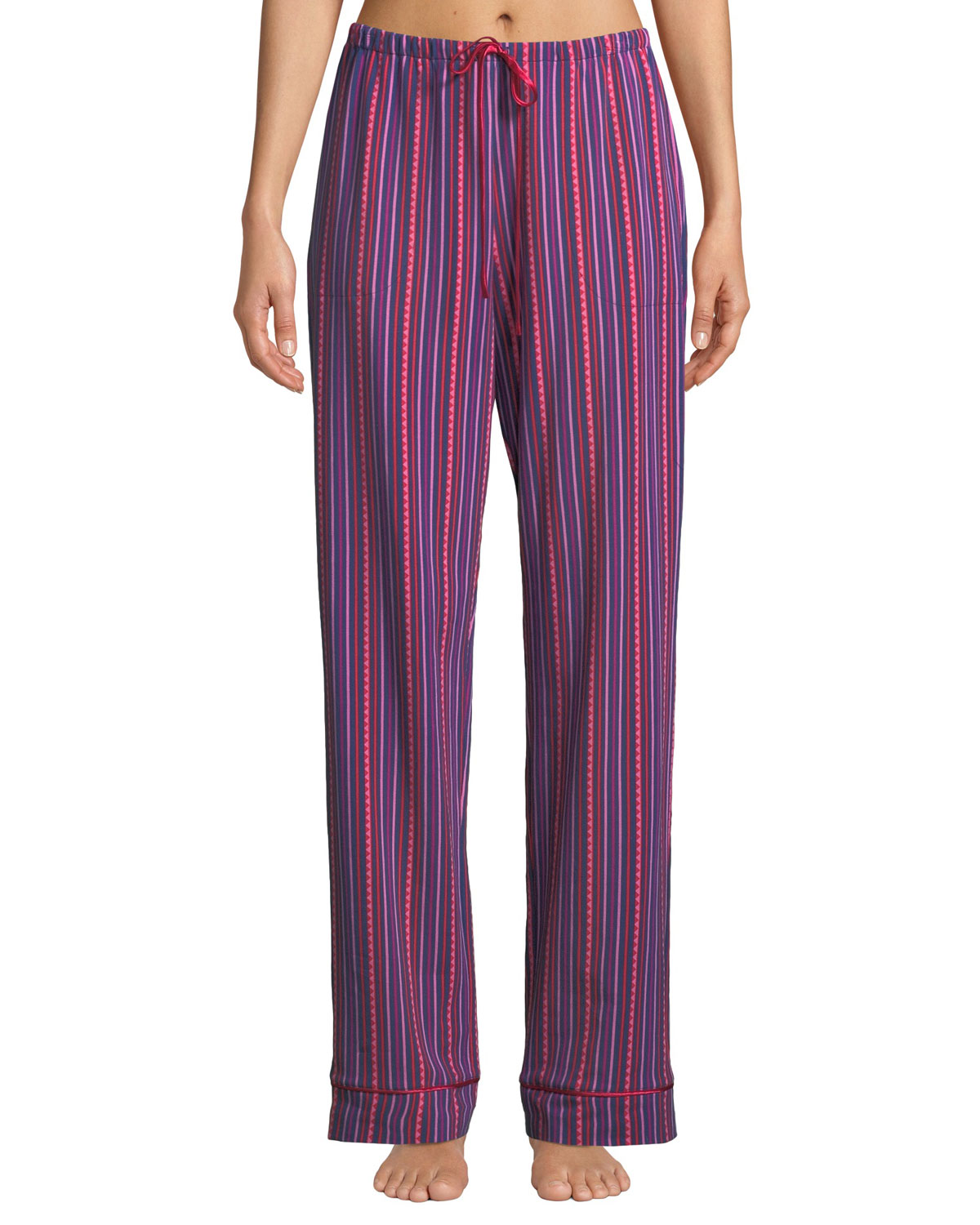 BEDHEAD Party Stripe Classic Pajama Pants in Pink Pattern