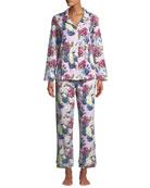 BedHead Pajamas Floral Jewels Classic Pajama Set