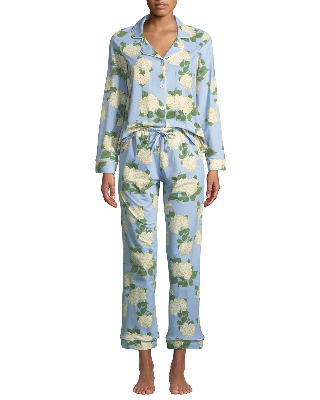 Hydrangea Classic Pajama Set