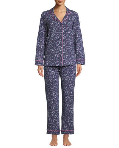 Plus Size Confetti Classic Pajama Set