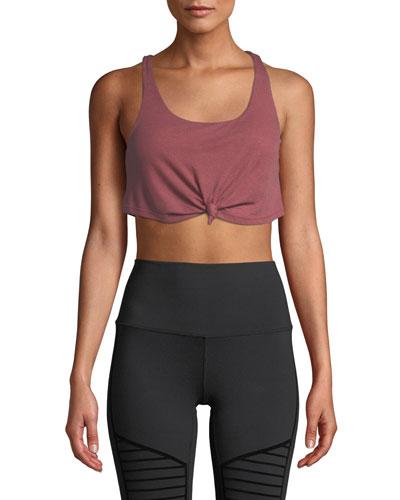 Polyester Yoga Bra Neiman Marcus
