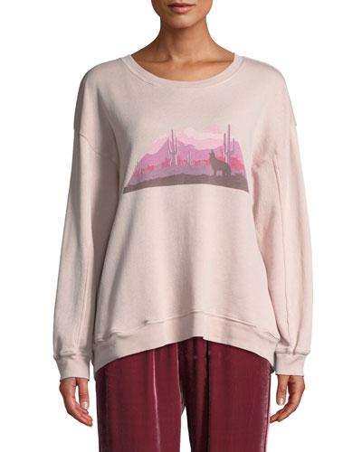 James Desert Graphic Sweatshirt