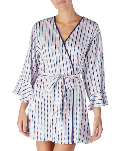 Quick Look. kate spade new york · striped heart charmeuse short robe 0abbb0aac