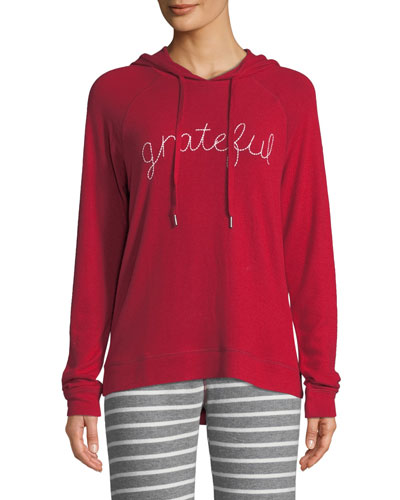 On Holiday Embroidered Hoodie