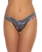 Hanky Panky Checkered Past Low-Rise Lace Thong