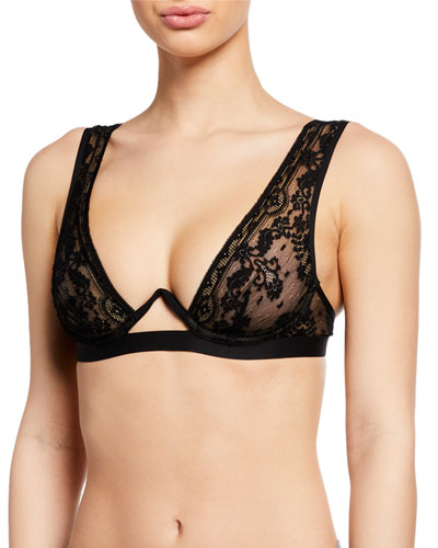 French Kiss Monowire Lace Bra