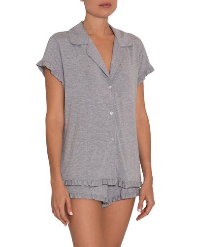 Ruthie Ruffle Shortie Pajama Set