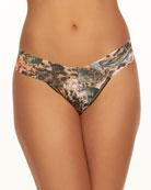 Hanky Panky Safari Bloom Lace Low-Rise Thong