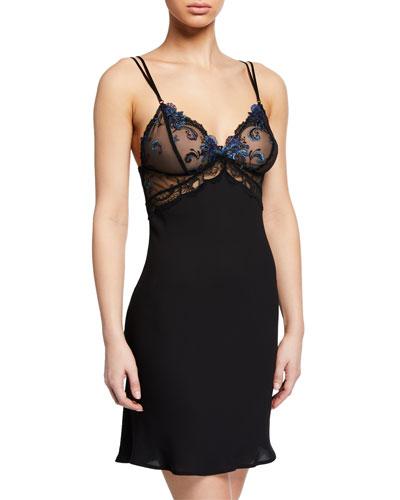 Nuit Elegance Lace-Bust Nightie