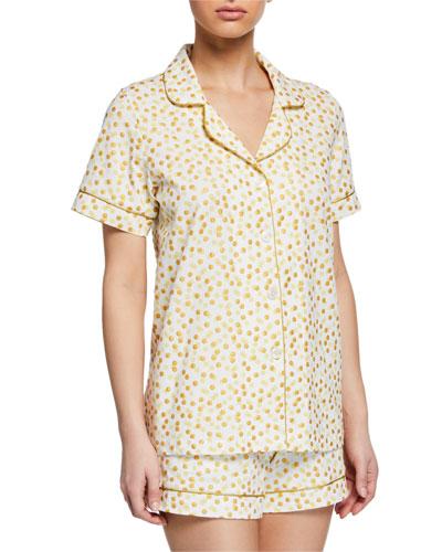 Confetti Sparkle Shorty Pajama Set