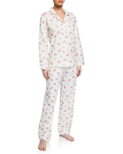 Macarons Classic Pajama Set