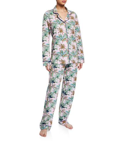 Rainbow Palm Classic Pajama Set
