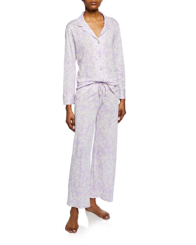 Melody Floral-Print Pajama Set
