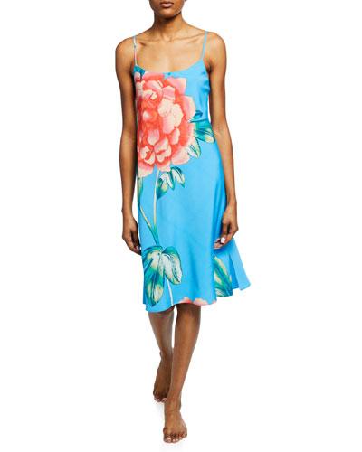 Nova Floral-Print Nightgown