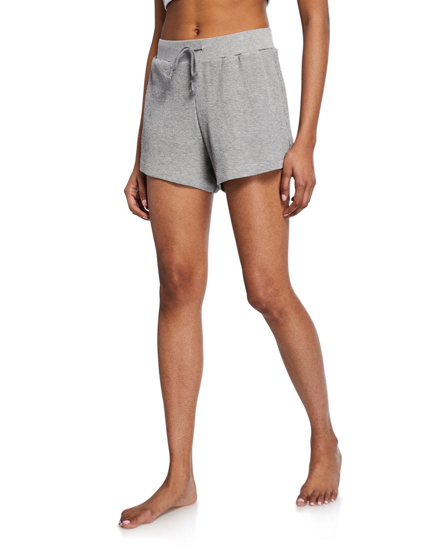 Skin Shorts SARAH LOUNGE SHORT WITH DRAWSTRINGS