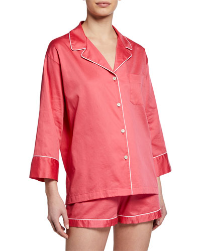 Sateen Essentials Short Pajama Set