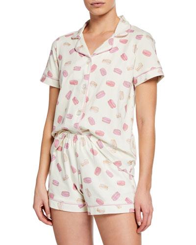 Macarons Shorty Pajama Set