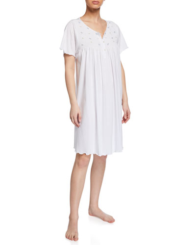 Lisa Short-Sleeve Nightgown