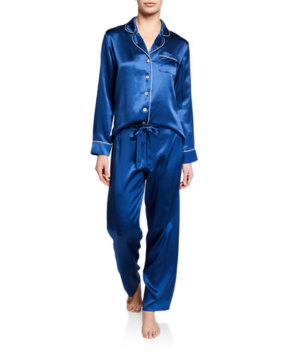 Fine Finishes Silk Pajama Set
