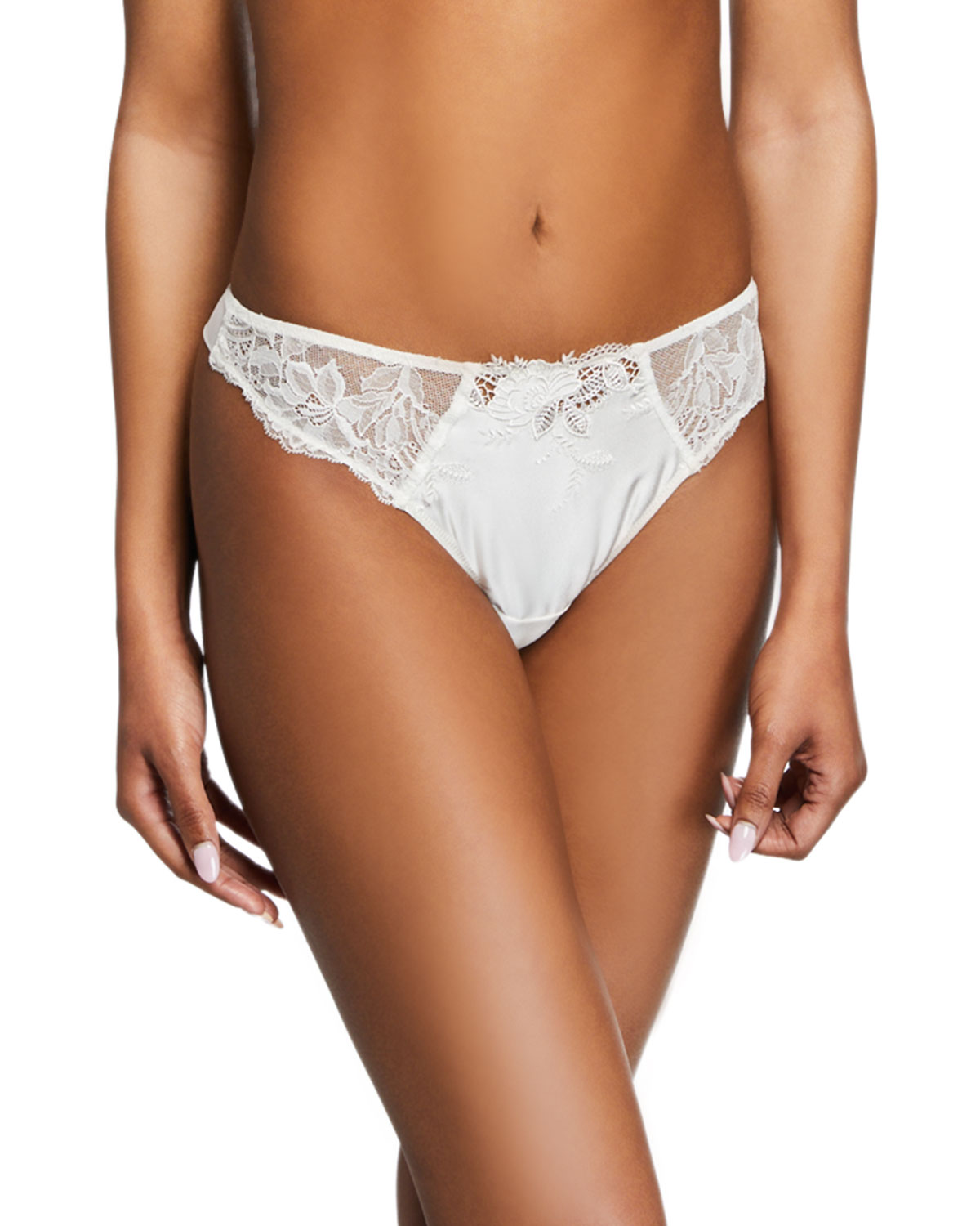 Soie Virtuouse Lace Thong