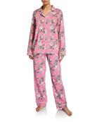 Bedhead Ladybug Floral Classic Pajama Set