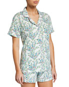 Bedhead Spring Bloom Shorty Pajama Set