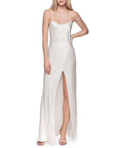 1ea34625fcc21 Silk Long Nightgown | Neiman Marcus