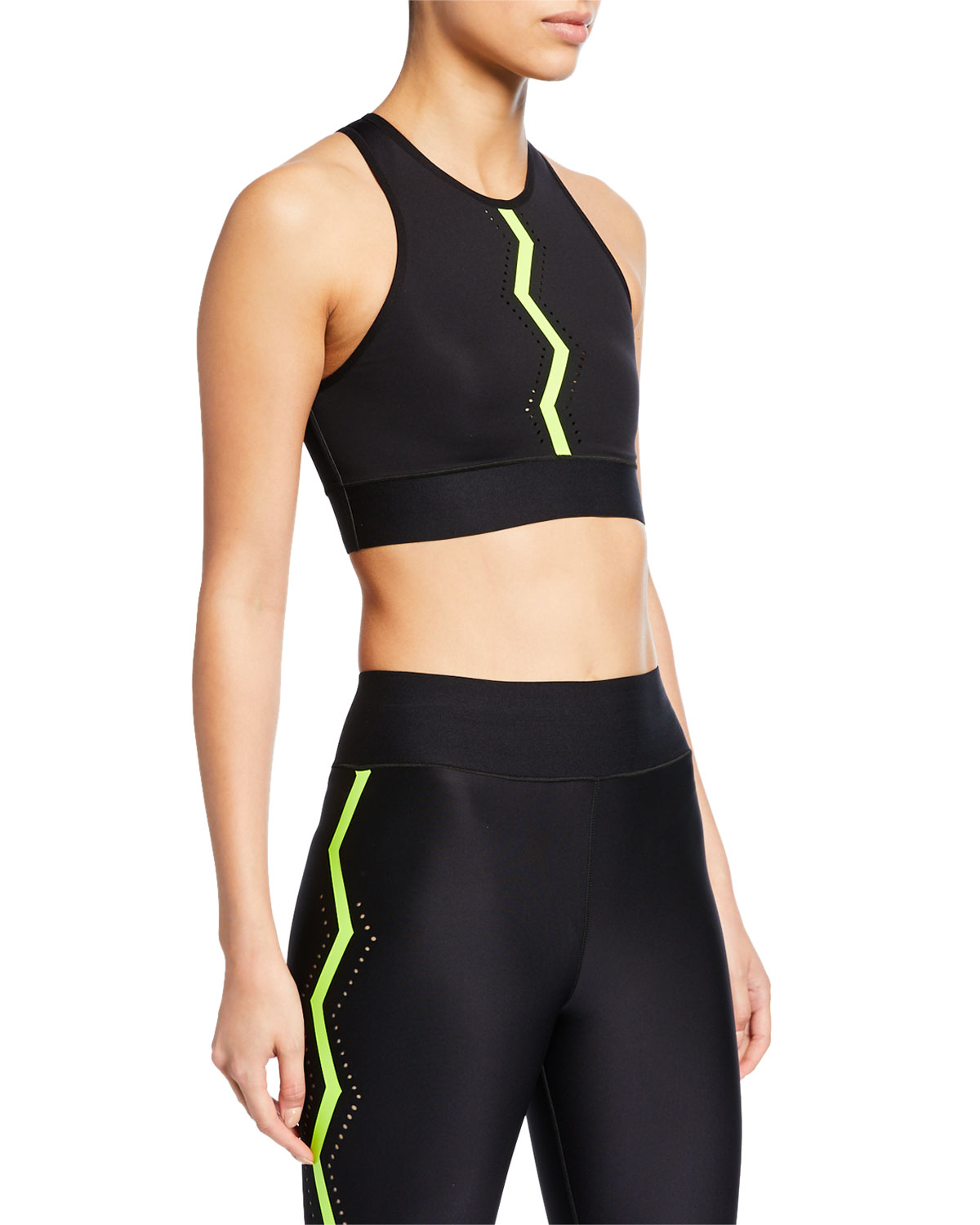 Ultracor ALTITUDE SERRATED PERFORMANCE CROP TOP