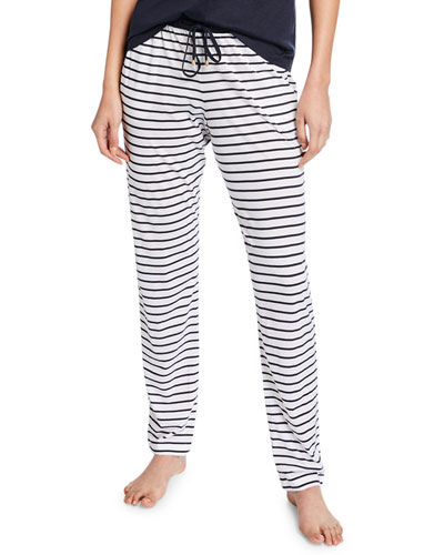 Laura Short-Sleeve Long Pajama Set