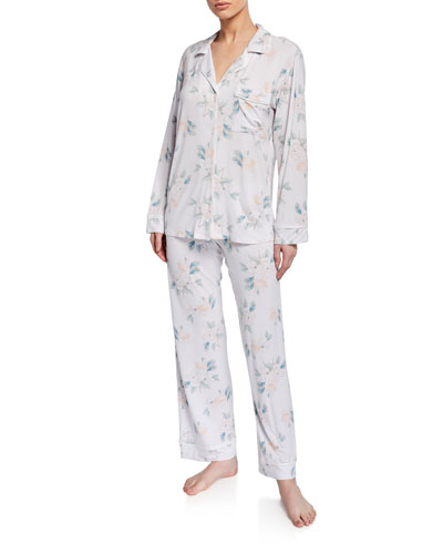 Mother's Blossom Long Pajama Set
