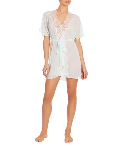 Stephanie Chiffon Short Robe