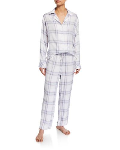 Plaid Classic Pajama Set