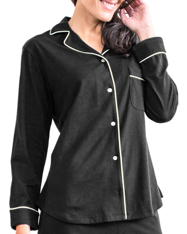 Donna Jersey Pajama Shirt