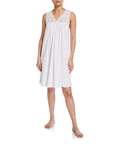 Pilar V-Neck Sleeveless Nightgown