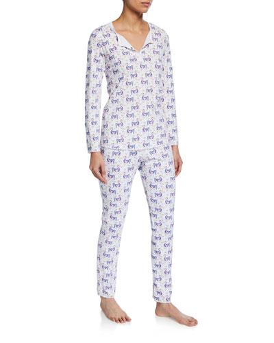 Gwen The Unicorn Two-Piece Pajama Set