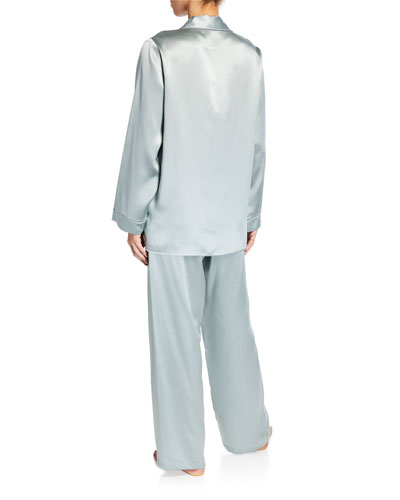 Garbo Classic Silk Pajama Set