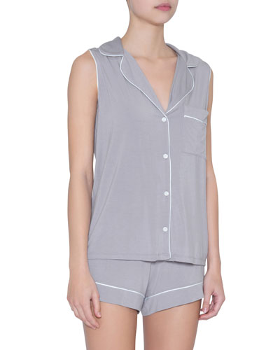 Phoebe Sleeveless Shorty Pajama Set