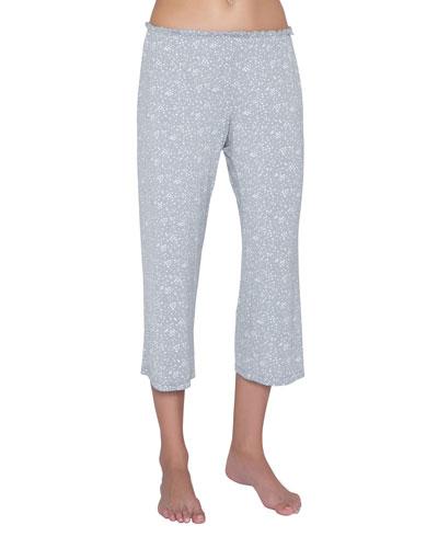 Moon Dots Jersey Crop Lounge Pants