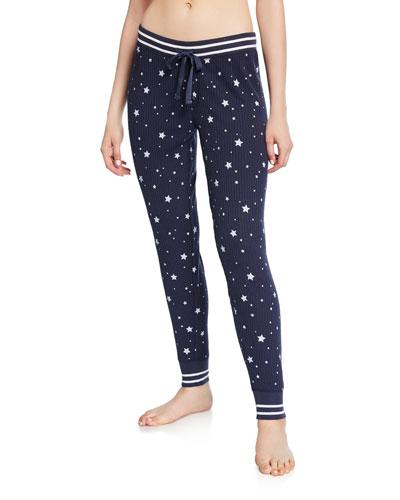 Dream Star-Print Jogger Pants