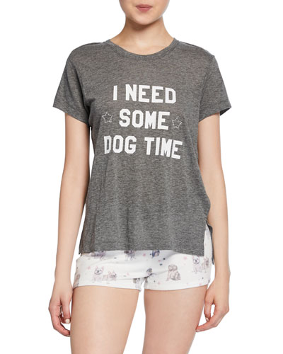 Pawfection Dog Time Graphic T-Shirt