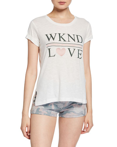 Weekend Love Graphic T-Shirt