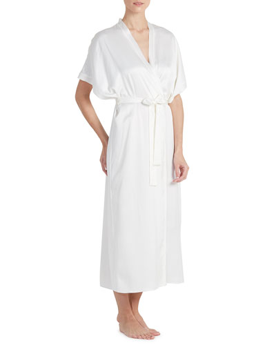 Heavenly Satin Long Robe