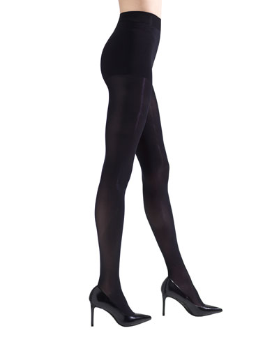 2-Pack Perfectly Opaque Control-Top Tights