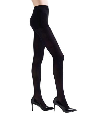 2-Pack Velvet Touch Opaque Control-Top Tights