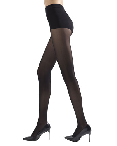 2-Pack Soft Suede Opaque Tights