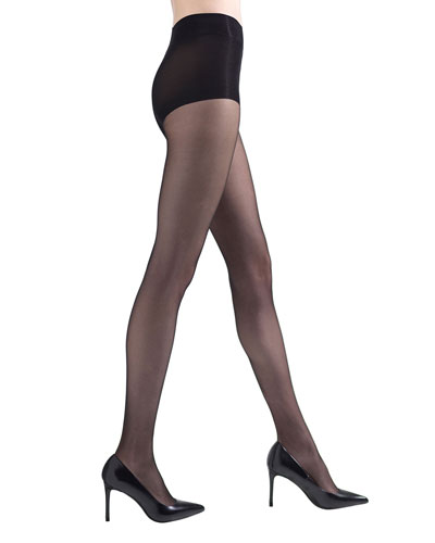 2-Pack Shimmer Sheer Control-Top Tights