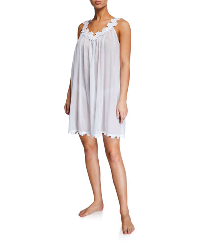 Palace Sleeveless Poplin Nightgown